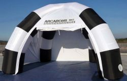 Customized tent spider