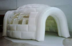 Chapiteau de conception sur mesure en forme d'igloo